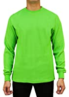 Access Men's Heavyweight Long Sleeve Thermal Crew Neck Top