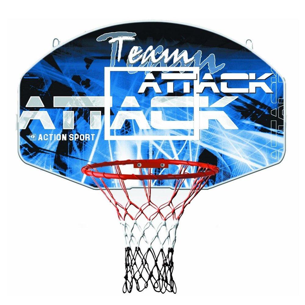 Sure Shot Team Attack Outdoor Home Basketball Backboard Ring /& Net Set