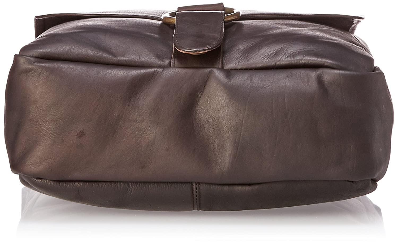 Messenger Bag 1 David King /& Co Tan One Size
