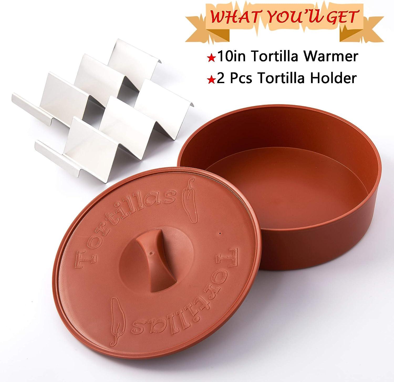 Um Lebensmittel Warm Zu Halten 12 Zoll 120 Minuten Lang Warm Tortilla Warmer Tortillas Taco Para Mehlhalter Isolierter Stoffbeutel Mikrowellengeeignet