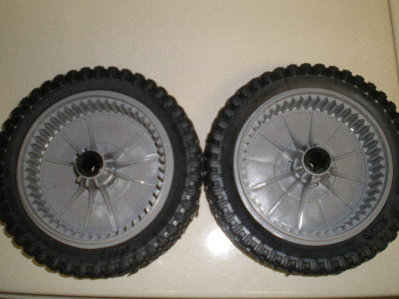 672441MA Scott Scotts Lawnmower Front Wheels Drive 8'' Set of 2 + (Free E-Book) A Complete Guidance to Take Care of Your Lawn