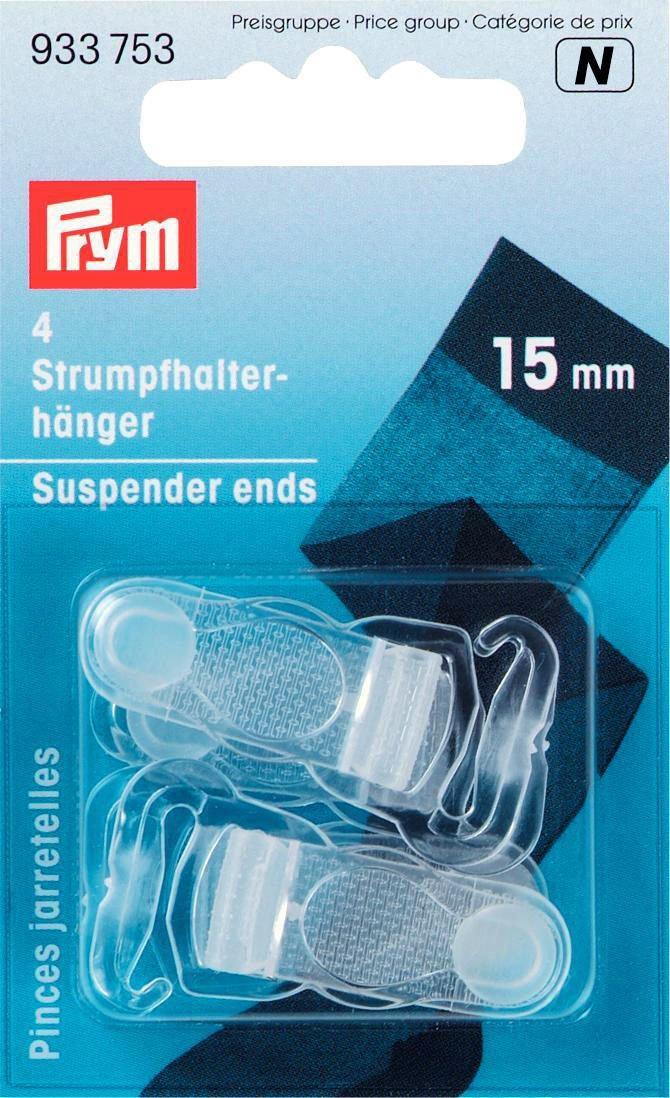 15 mm flesh Prym Suspenders-Ends Met