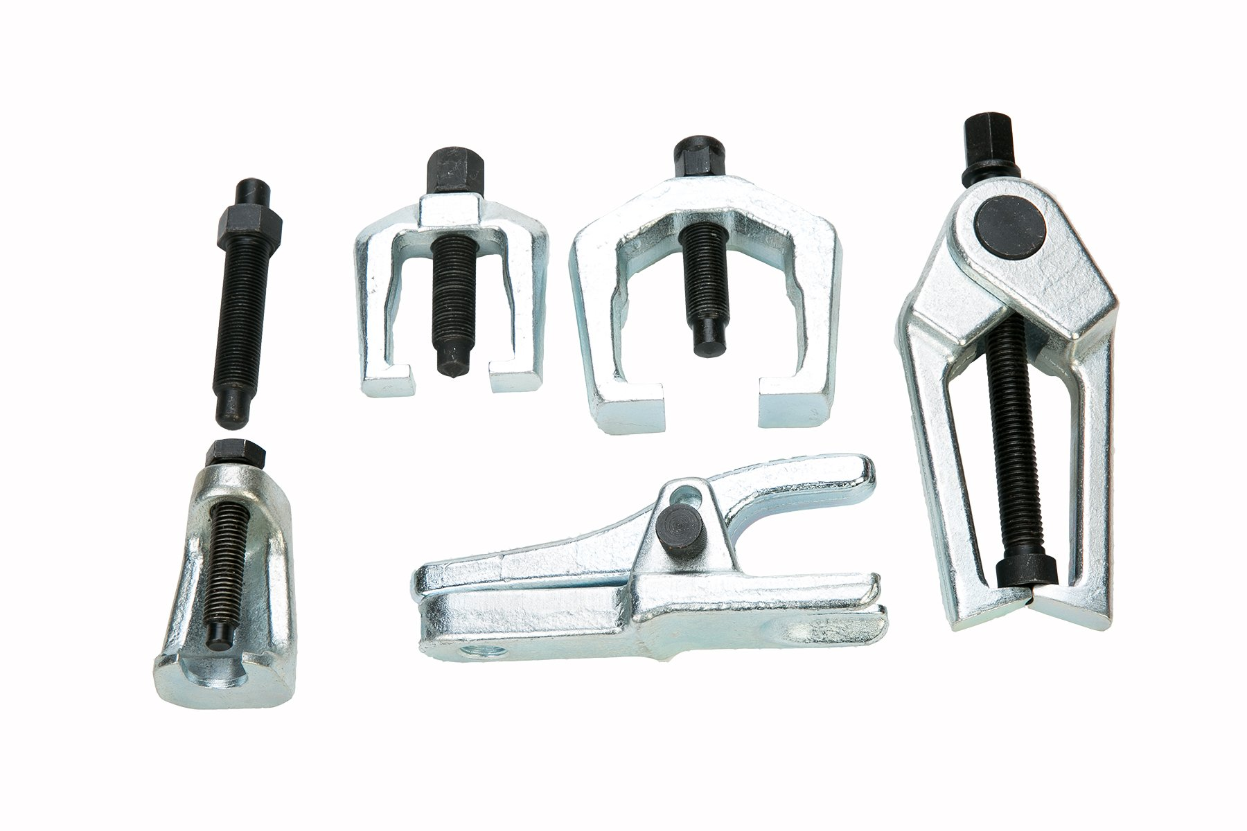 8milelake 6pc Front End Service Tool Kit Ball Joint Separator Pitman Arm Tie Rod Puller by 8MILELAKE (Image #2)