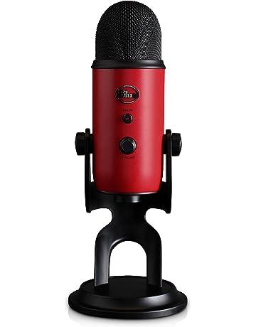Blue Microphones Yeti - Micrófono para ordenador (USB, 16-bit, 48 KHz