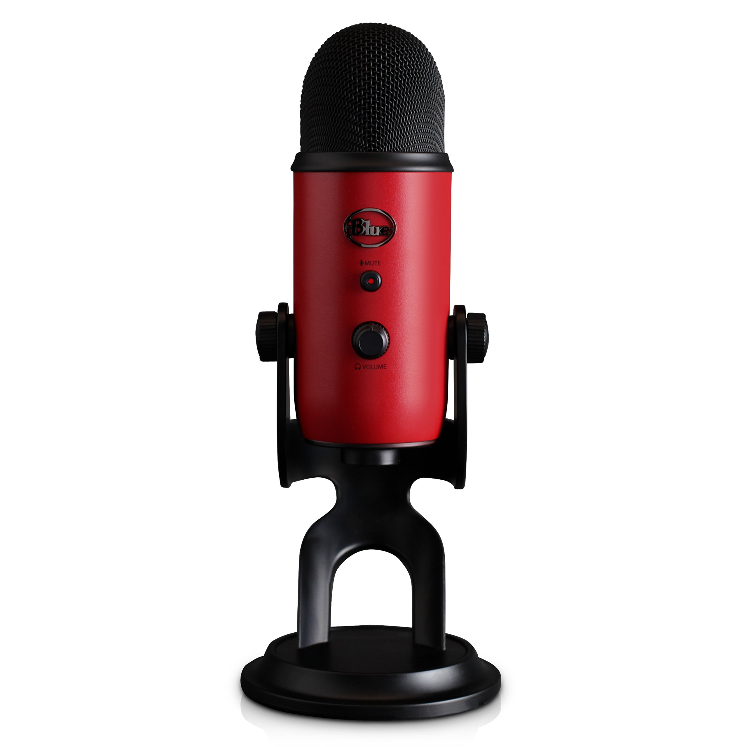 Blue Yeti USB Microphone - Satin Red by Blue (Image #1)