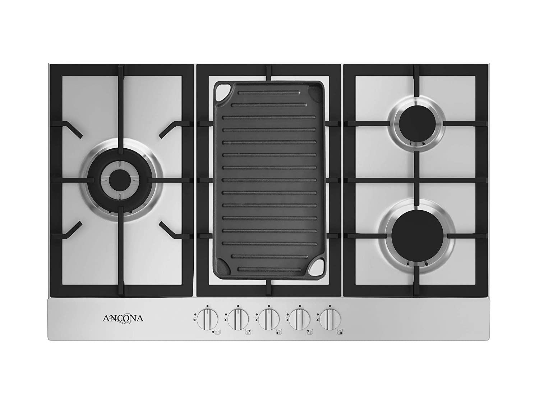 "Amazon.com: ANCONA an-21019 34"" Gas, Vitrocerámicas ..."