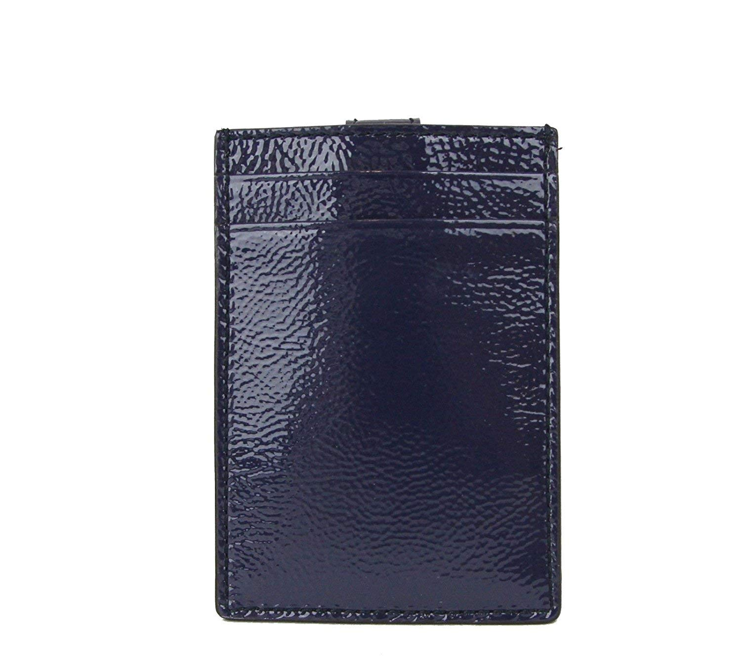 Gucci Women's Soho Blue Patent Leather Card Case Pouch 338331 4233 by Gucci (Image #2)