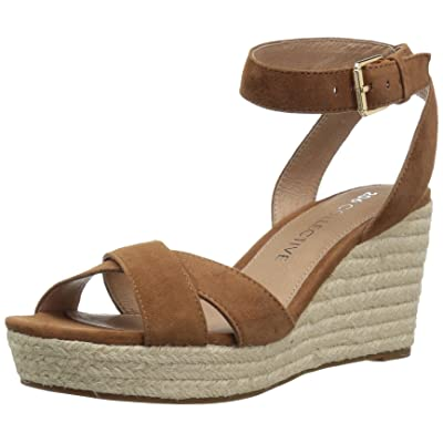 206 Collective Women's Campbell Espadrille Dress Wedge-High Sandal: Clothing