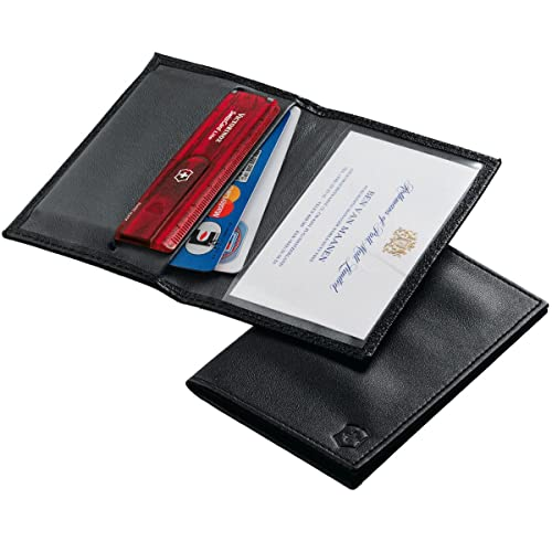 Victorinox Funda Swiss Card, Piel Negra: Amazon.es: Zapatos ...
