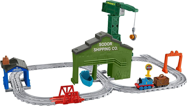 Thomas & Friends- Grúa Cranky en el Muelle (Mattel DVT13)