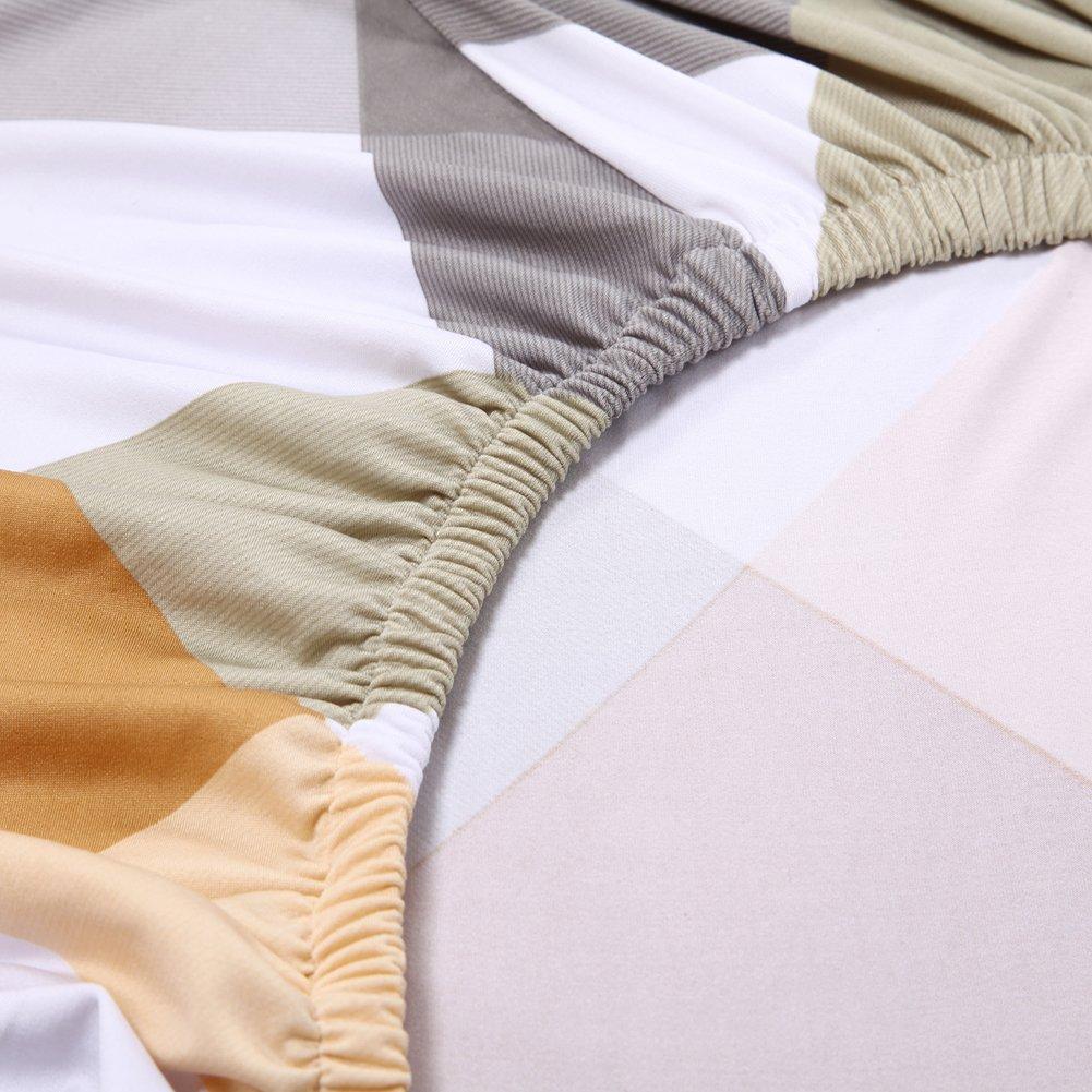 Hotniu Elástico 3 Cojín Sofá Cover Lavable Antideslizante Slipcovers para sillas y Sofás 1 Pieza(4 Plazas,Patrón #7): Amazon.es: Hogar