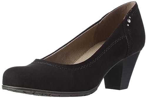 22474, Zapatos de Tacón para Mujer, Beige (Lt. Taupe), 38 EU Soft Line