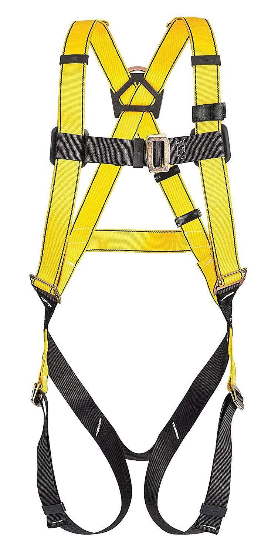 MSA Safety 10096486 Style 1-D Harness Vest, Standard Size by MSA