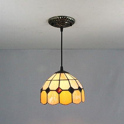 HDO Gweat - Lámpara de Techo Colgante, luz Tenue, Tiffany ...
