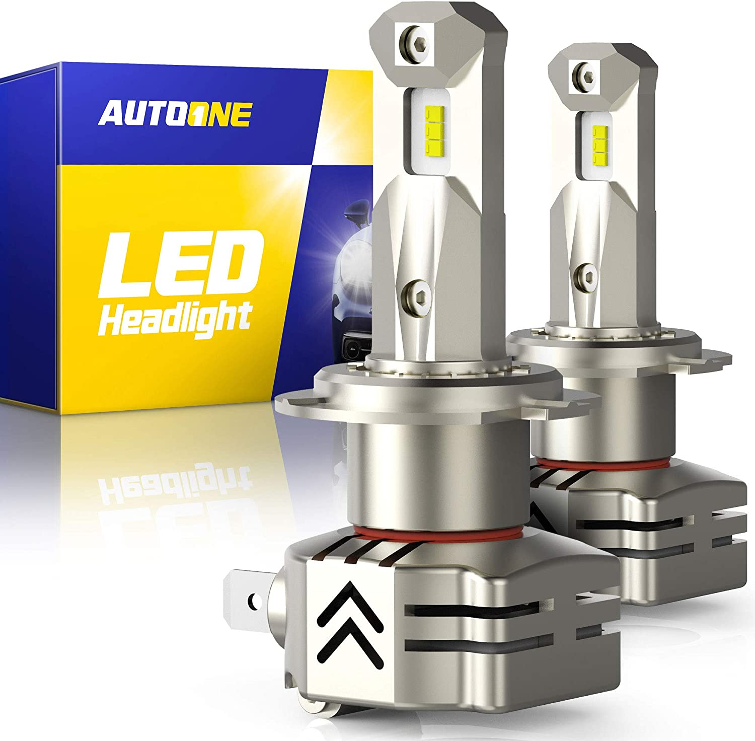 AUTOONE H7 LED Headlight Bulbs