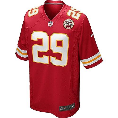 Amazon.com  Eric Berry Kansas City Chiefs Nike Game Jersey - Red ... f3093b40f4a2