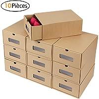 MVPower 10/20 PCS Boîte à Chaussures en Papier Epais