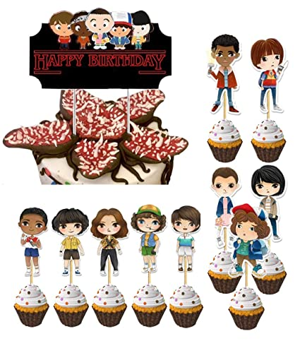 Ginkago Decoración de la Tarta de cumpleaños 11pcs ...