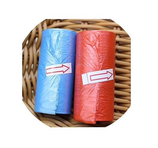 Bolsas de basura pequeñas de plástico, 15 unidades por rollo ...