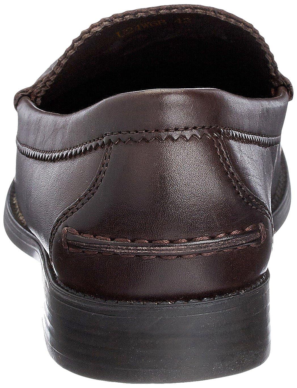 Geox Damon - Zapatos sin sin sin cordones de cuero hombre 3dc250