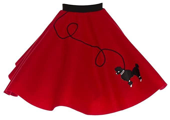 Vintage Style Children's Clothing: Girls, Boys, Baby, Toddler Poodle Skirt for Girls $36.86 AT vintagedancer.com