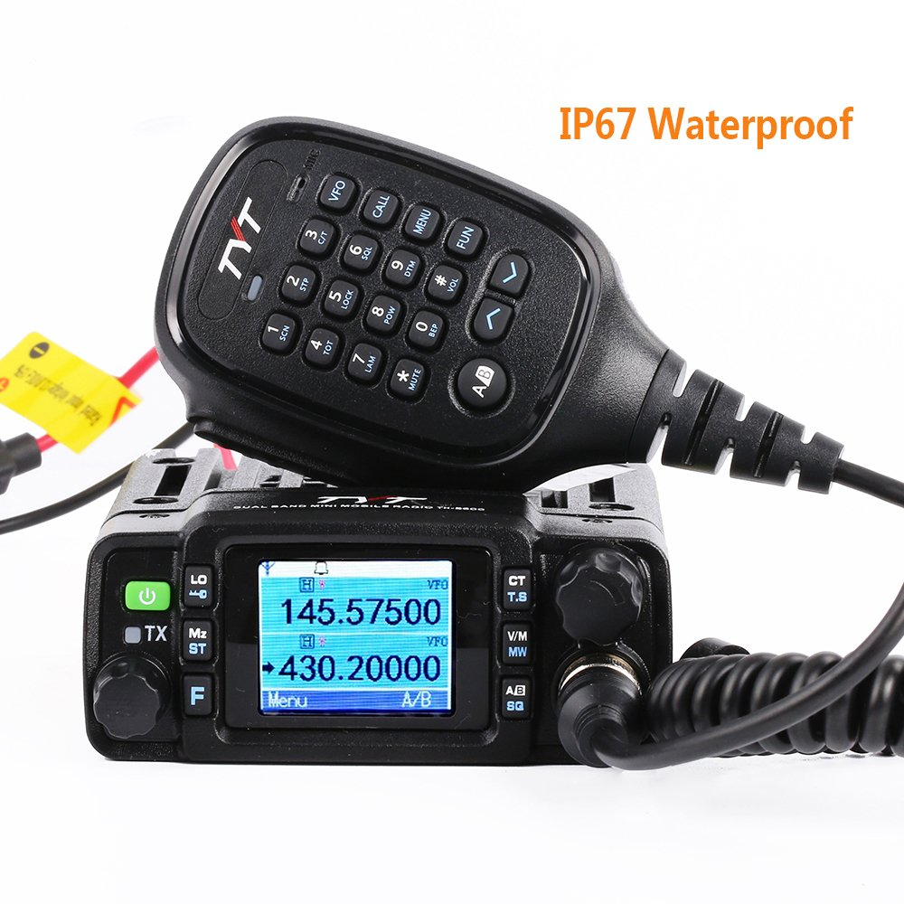 Tyt Th 8600 Dual Band Mini Mobile Transceiver Ip67 Radio Remote Control Using Dtmf Receiver Waterproof Car 2m 70cm 25w Amateur Two Way W Cable Electronics