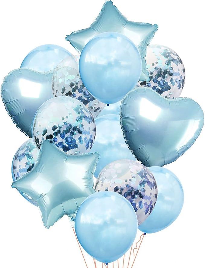 globos en forma de estrella