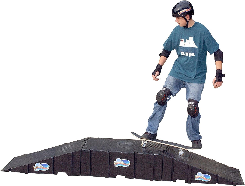 Amazon.com: landwave Skateboard Starter Kit con 2 rampas y 1 ...