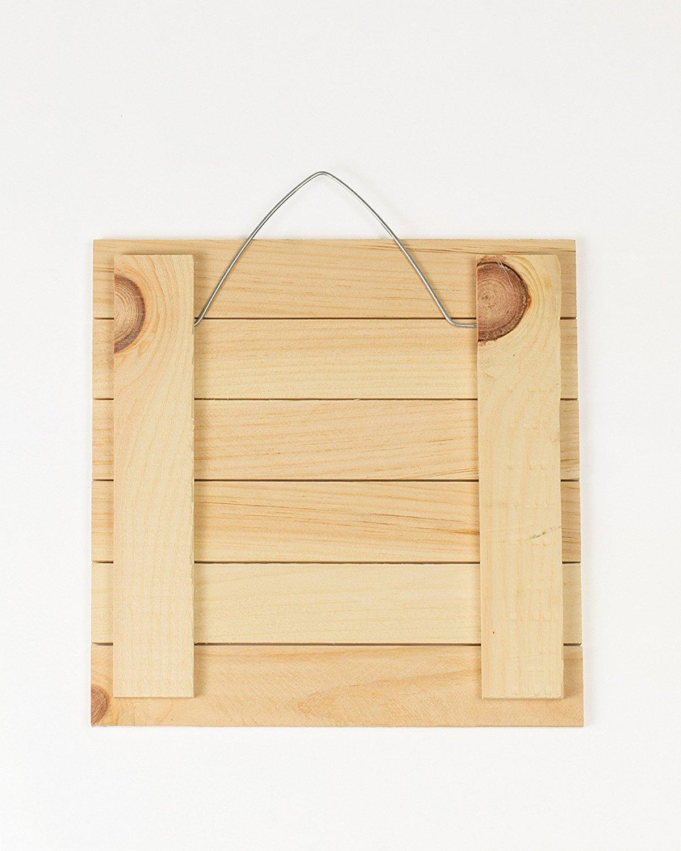Dicksons Ten Commandments Shiplap White 12 x 16 Wood Decorative Wall Plaque