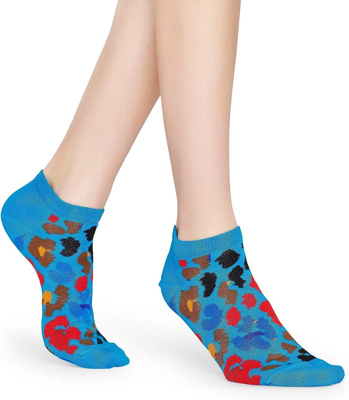 Happy Socks Multi leopard low sock 6300