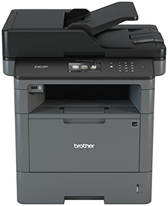 Brother Monochrome Laser Printer, Multifunction Printer and Copier, DCP-L5500DN, Flexible Network Connectivity, Duplex Printing, Mobile Printing & ...