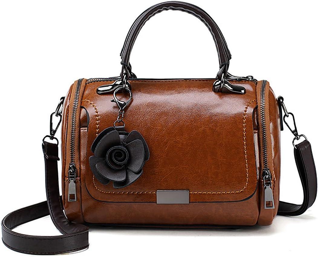 Tisdaini Womens Cross-Body Small Handbags Fashion PU Leather Casual Bag