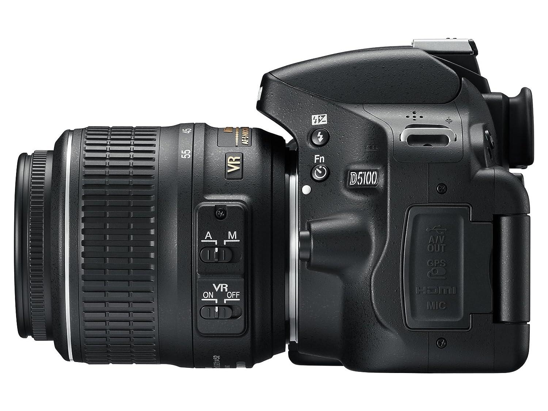 Camera Dslr Camera Nikon D5100 amazon com nikon d5100 dslr camera with 18 55mm f3 5 6 auto focus s nikkor zoom lens old model photo