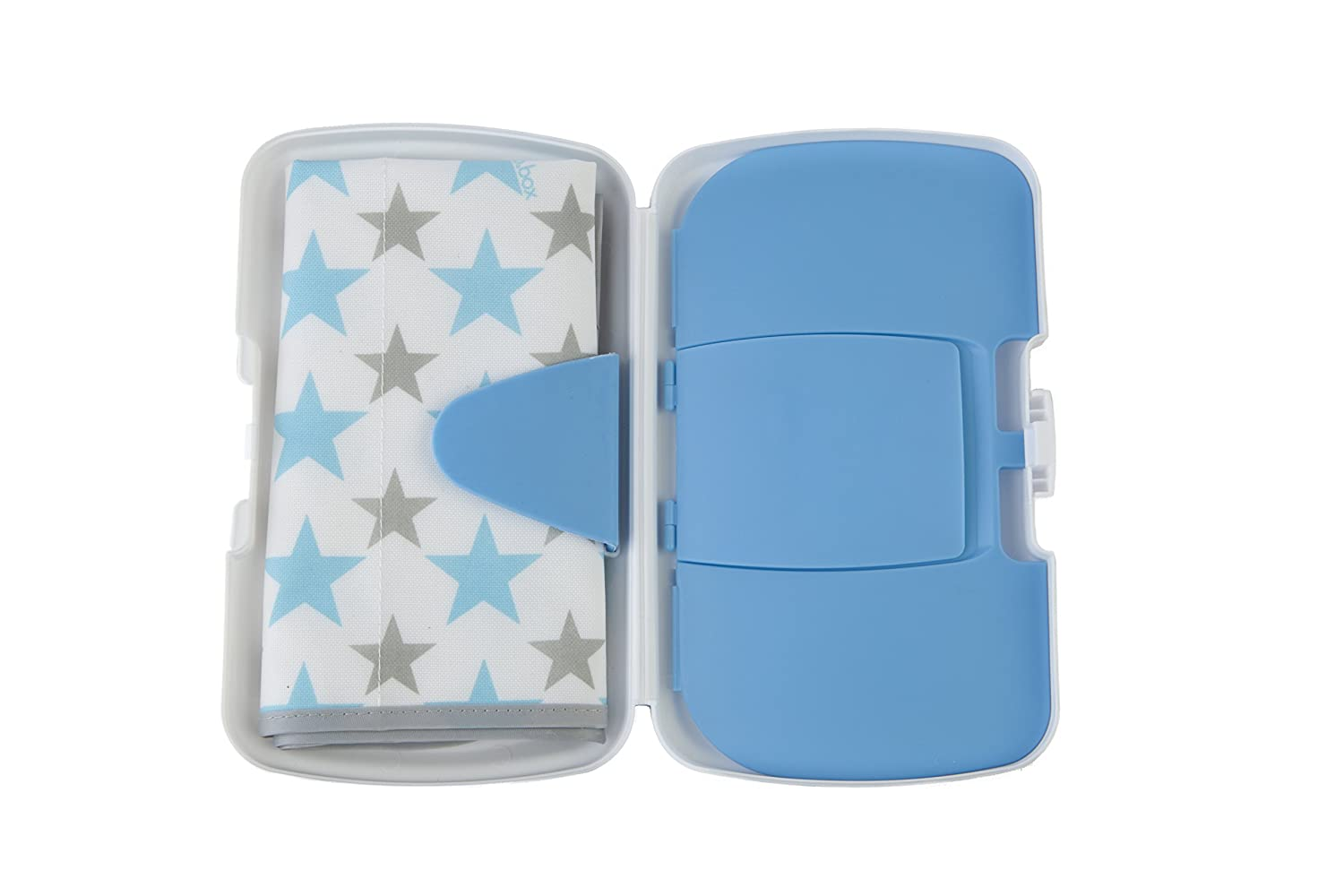 Amazon.com : b.box Diaper Wallet | Shining Star Pattern Easy-to-Clean Changing Mat | Holds 2 Disposable Diapers Or a Change of Clothes | BPA-Free ...