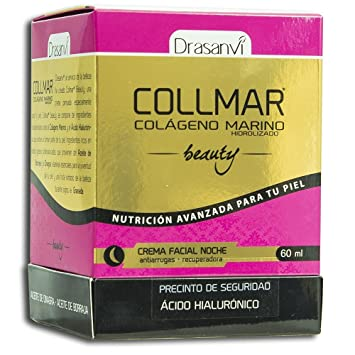 COLLMAR Beauty Cream with Hydrolysed Marine Collagen, Hyaluronic Acid, Vitamin C, Biotin,