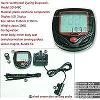 Bicycle Bike Cycling Computer Speedometer Odometer Speedometer