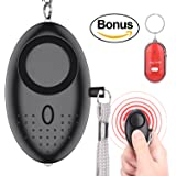 Bestdotek Personal Alarm Keychain, 140dB Personal Safety Alarms for Women Self Defense, Personal Portable Security Alarms with LED Lights,with a Bonus Key Finder