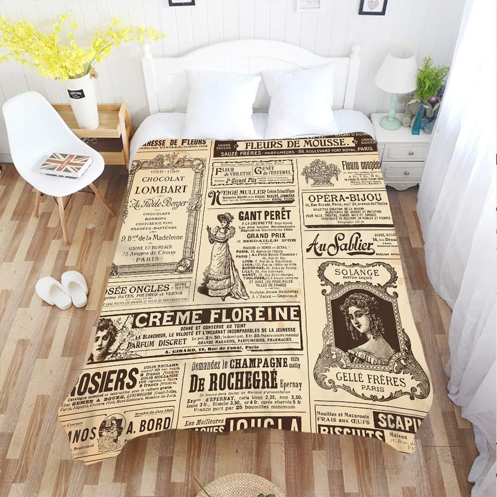 Paris Tower Throw Blanket On The Bed Romantic Letters Sherpa Fleece Blanket Hear Home & Garden