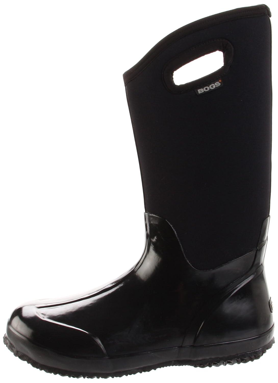 Bogs Women's Classic High Handle Waterproof Insulated Rain Boots B004KKYY4O 7 B(M) US Black Smooth