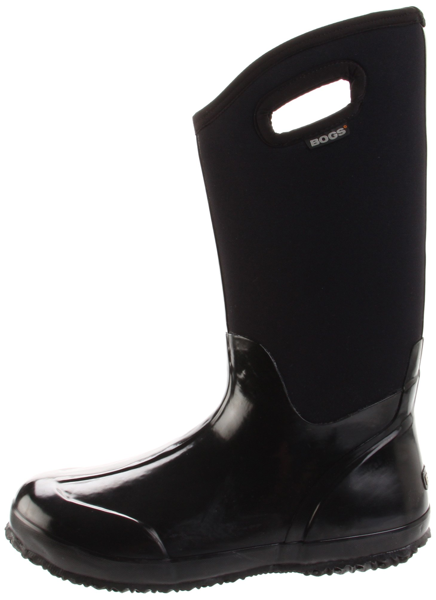 Bogs Women's Classic High Handle Waterproof Insulated Boot,Black Smooth,7 M US by Bogs (Image #5)
