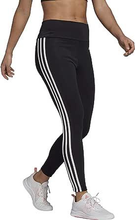 adidas Womens High Rise 3-Stripes 7/8 Tights