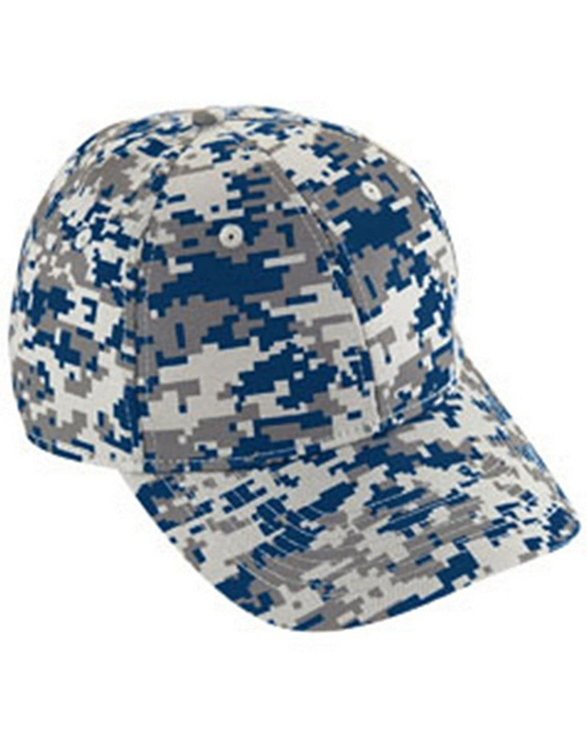 Digi Camo Cotton Twill Cap Augusta Sportswear OS Black Digi (US) Augusta Drop Ship 6208