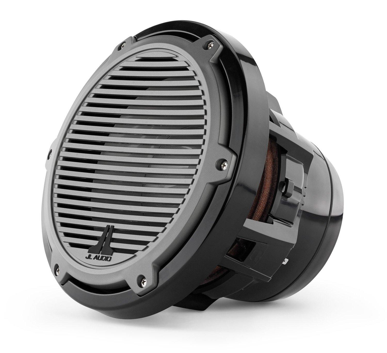 JL Audio M8IB5-CG-TB 8 Marine Audio 4 Ohm Subwoofer w// Titanium Black Classic Grille