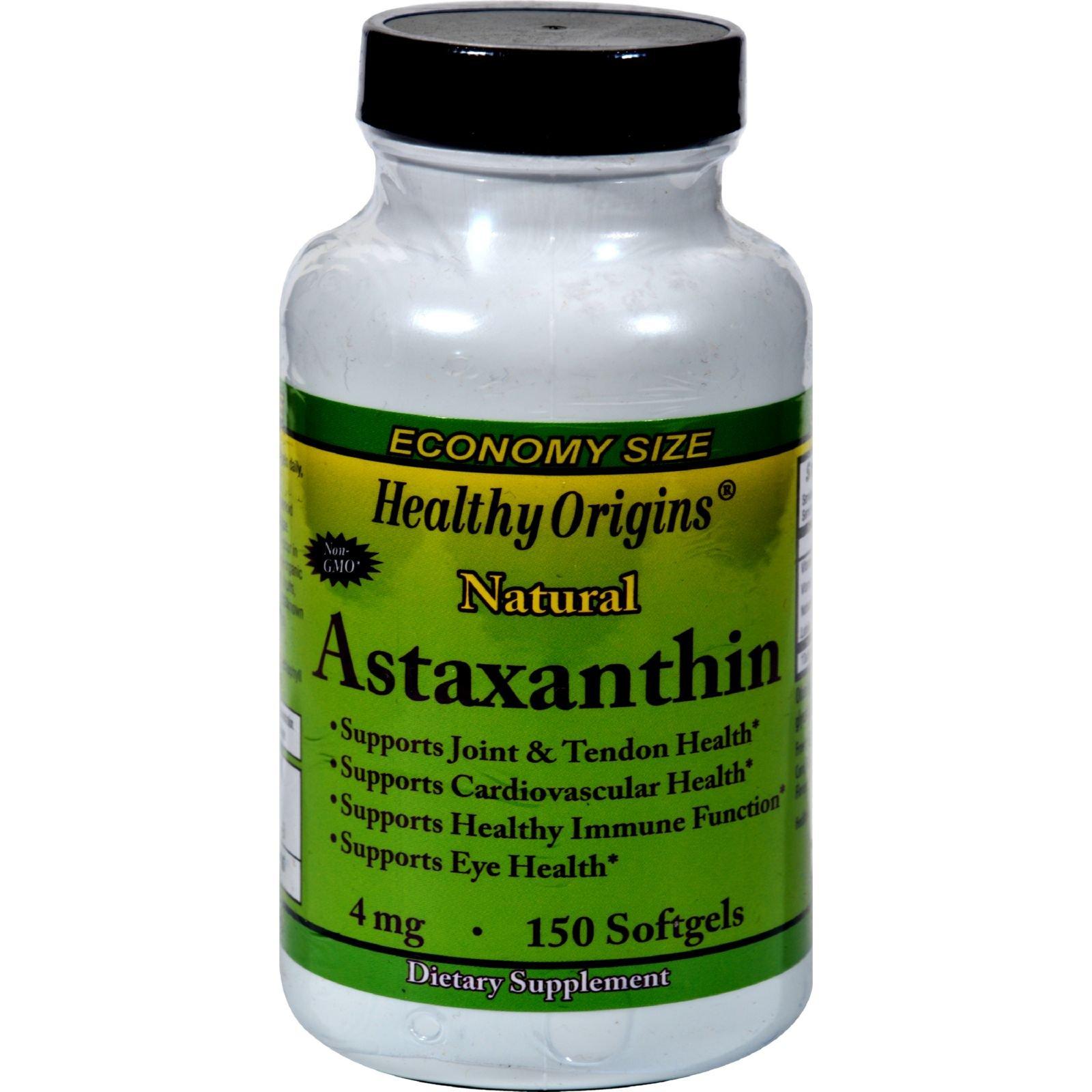 2Pack! Healthy Origins Astaxanthin - 4 mg - 150 Softgels