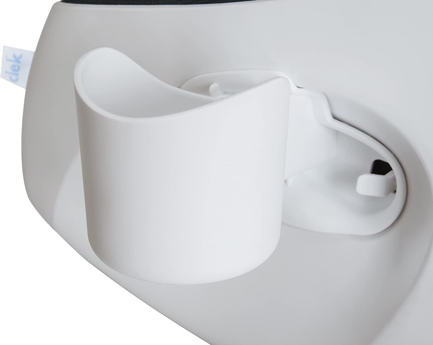 White Clek Foonf//Fllo Drink Thingy Cup Holder