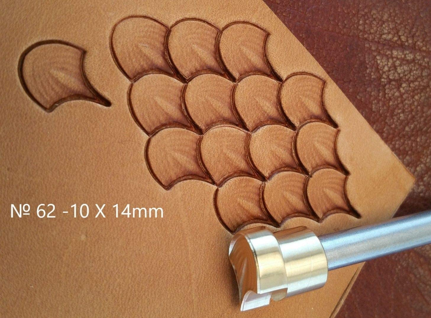 Stamp #62 B-4 Tools for leather crafts