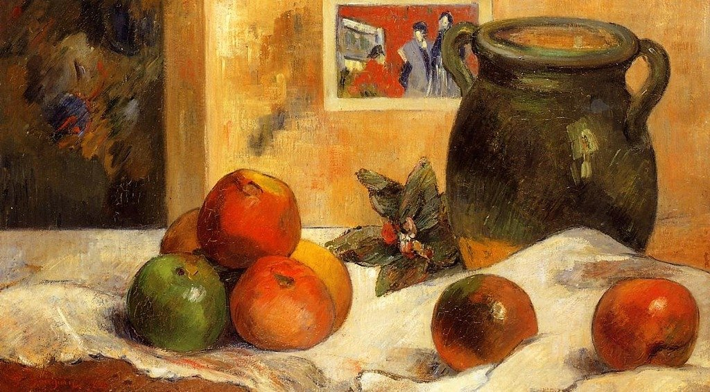 Gauguin Paul Still Life with L'Esperance 100% Hand Painted Oil Paintings Reproductions 12X16 Inch