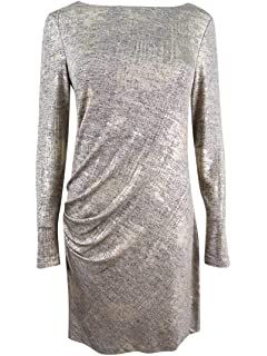 db3f06c67e3ed VINCE CAMUTO Women s Petite Long Sleeve Bodycon Dress at Amazon ...