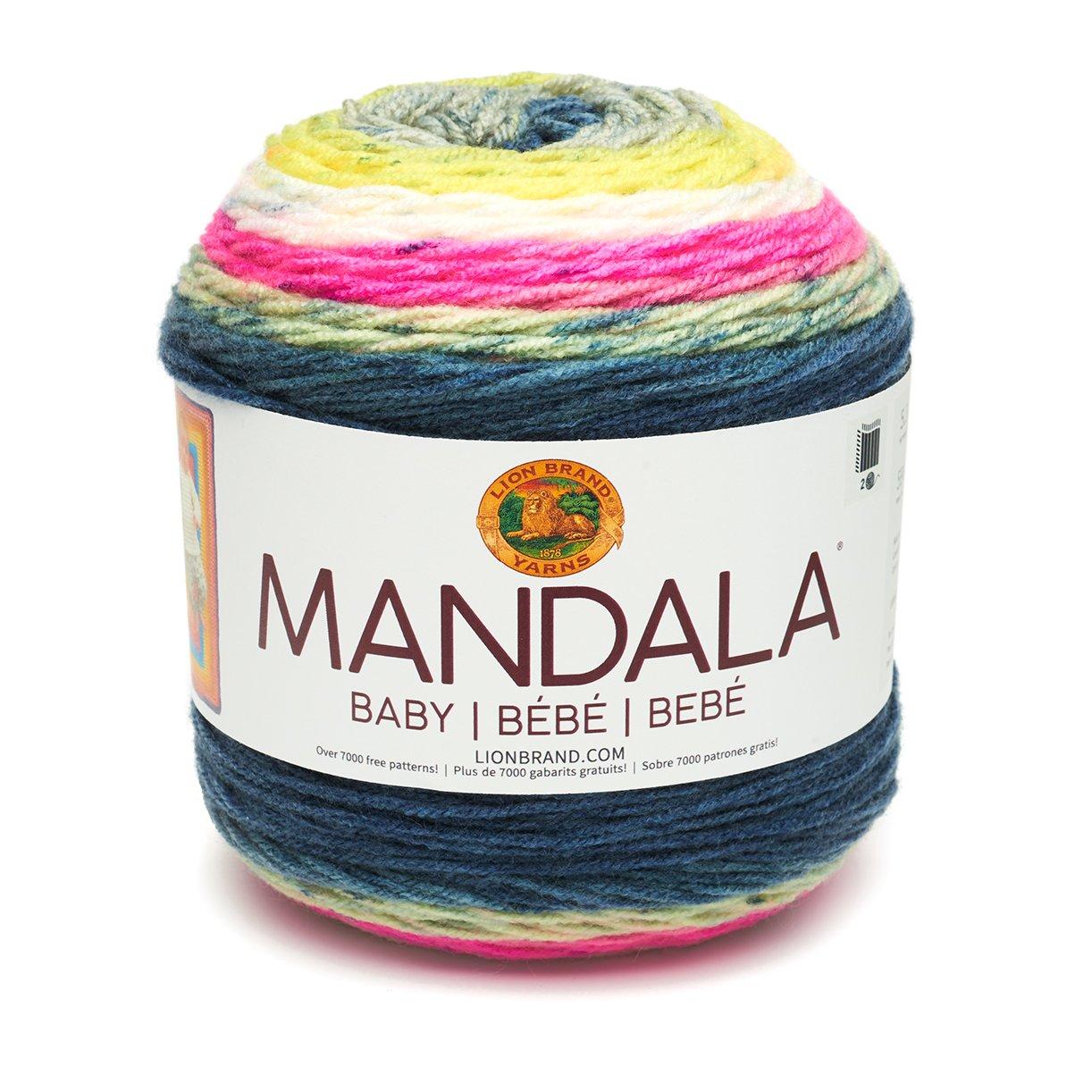 Amazon.com: MANDALA BABY YARN - Far Far Away