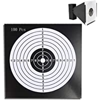 Snowtian Caja con 100 Dianas Objetivo de Flecha Tiro a La Diana Flechas Disparadas Objetivo 14 cm Disparos para Zona de…